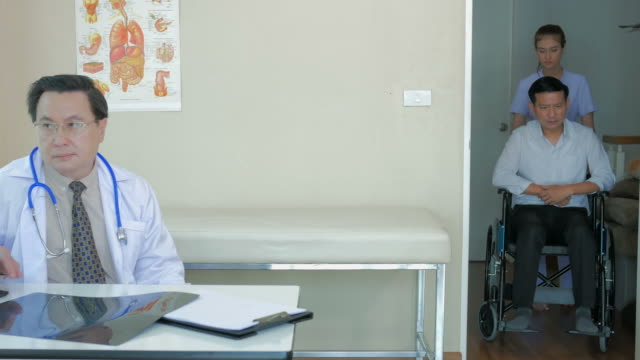 Arzt Patient Besuch