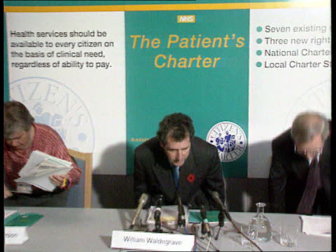 patient's charter labour attacks record london dept of health ms william waldegrave rl and takes seat for pkf pull out as duncan nichol and woman sit... - will.i.am stock videos & royalty-free footage