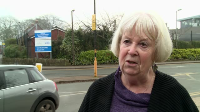 Patients 'dying prematurely' in corridor AE bosses warn Theresa May EXT Geraldine Shuttleworth interview SOT/ 'Accident and Emergency' entrance sign