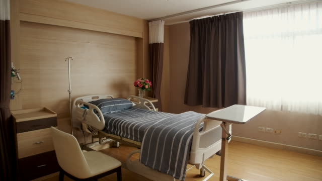 patient's room is empty, no patient - hospital ward stock videos & royalty-free footage