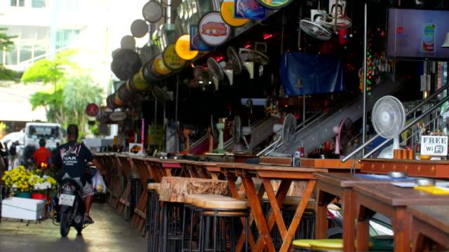 patong city phuket - phuket stock videos & royalty-free footage