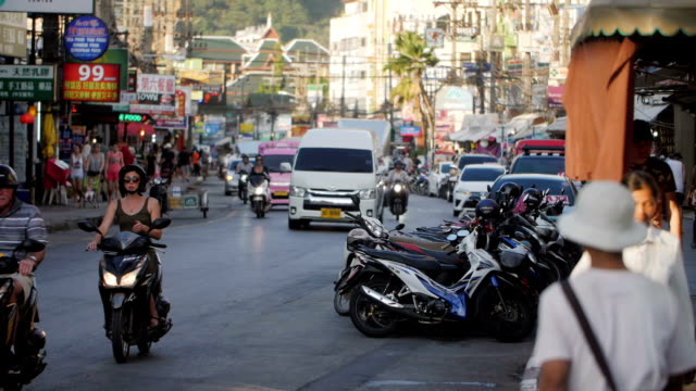 Patong City Slow Motion