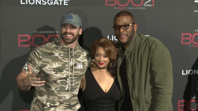 """Patrice Lovely Tyler Perry at Lionsgate Presents the Los Angeles Premiere of Tyler Perry's """"Boo 2 A Madea Halloween"""" in Los Angeles CA"""