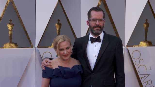 patricia arquette at the 88th annual academy awards - arrivals at hollywood & highland center on february 28, 2016 in hollywood, california. 4k... - patricia arquette stock videos & royalty-free footage
