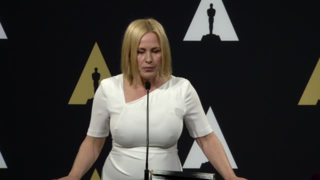 patricia arquette at the beverly hilton hotel on february 02, 2015 in beverly hills, california. - the beverly hilton hotel stock videos & royalty-free footage