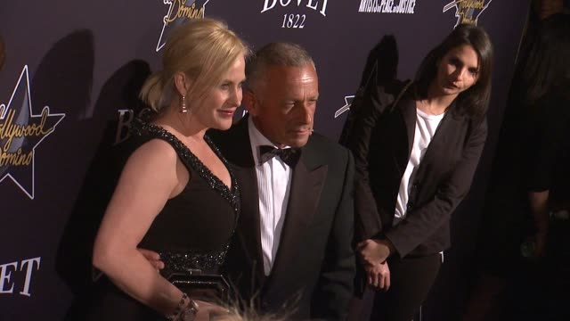 patricia arquette at the hollywood domino annual preoscar soiree presented by bovet 1822 at the sunset tower hotel on february 19 2015 in west... - オスカーパーティー点の映像素材/bロール