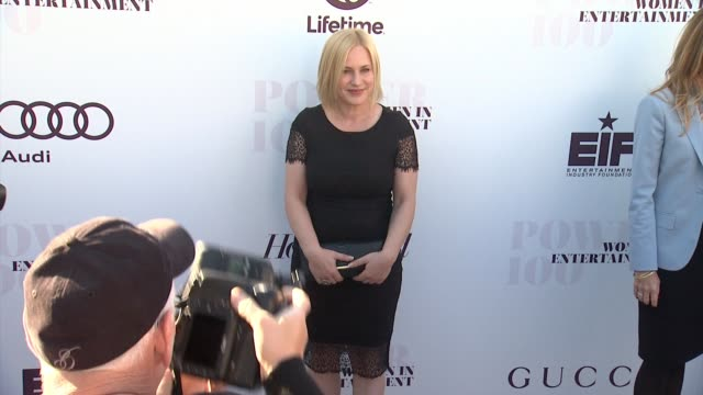 patricia arquette at the hollywood reporter's 2014 women in entertainment breakfast in los angeles, ca on - patricia arquette stock videos & royalty-free footage