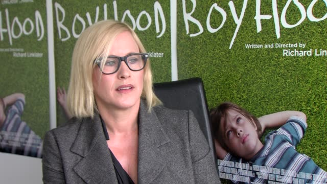 patricia arquette at the junket of boyhood in amsterdam, nl on june 22, 2014 - patricia arquette stock videos & royalty-free footage