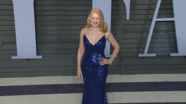 patricia clarkson at 2018 vanity fair oscar party on march 04, 2018 in beverly hills, california. - vanity fair stock videos & royalty-free footage