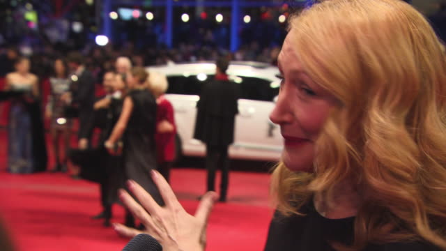 Patricia Clarkson at 68th Berlin Film Festival Isle of Dogs Opening Red Carpet at Berlinale Palast on February 15 2018 in Berlin Germany