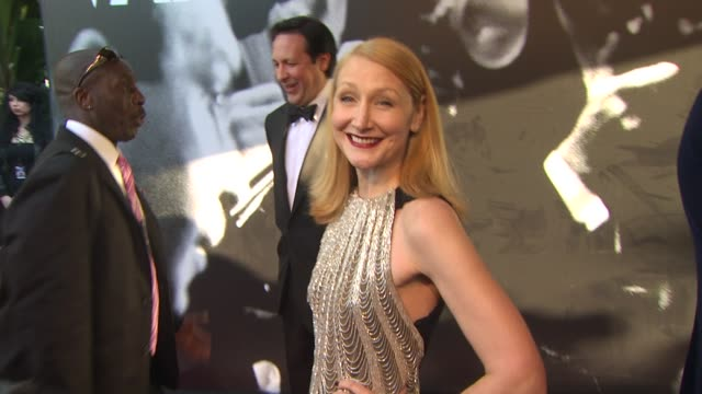 patricia clarkson at the 2010 vanity fair oscar party hosted by graydon carter at west hollywood ca. - vanity fair oscar party stock videos & royalty-free footage