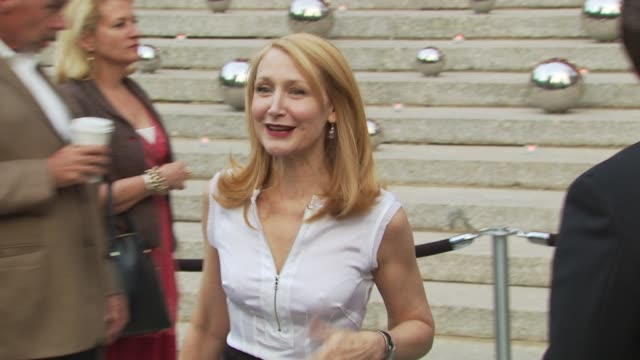 patricia clarkson at the 9th annual tribeca film festival - vanity fair party at new york ny. - ブラウス点の映像素材/bロール