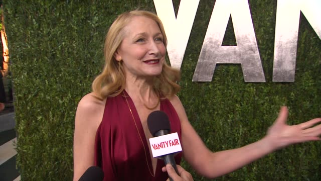 INTERVIEW Patricia Clarkson on getting ready on hoping to see Tom Hardy at the party on why the VF party is so great at The 2013 Vanity Fair Oscar...