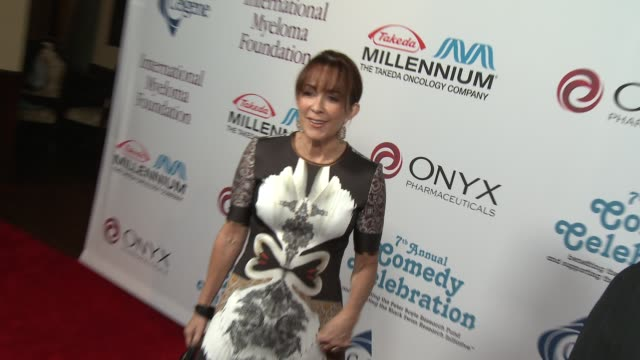 patricia heaton at international myeloma foundation 7th annual comedy celebration benefiting the peter boyle research fund & supporting the black... - peter boyle stock videos & royalty-free footage
