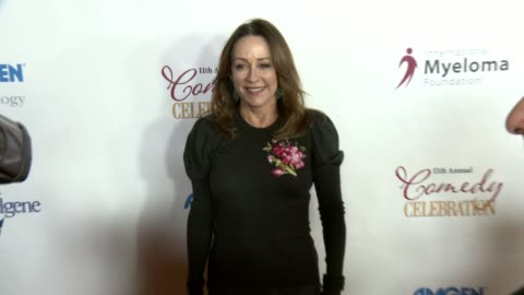 stockvideo's en b-roll-footage met patricia heaton at international myeloma foundation's 11th annual comedy celebration benefiting the peter boyle research fund at the wilshire ebell... - wilshire ebell theatre