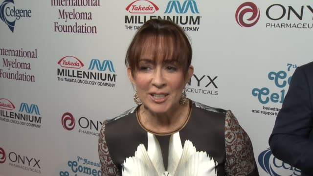 patricia heaton on peter boyle at international myeloma foundation 7th annual comedy celebration benefiting the peter boyle research fund &... - peter boyle stock videos & royalty-free footage