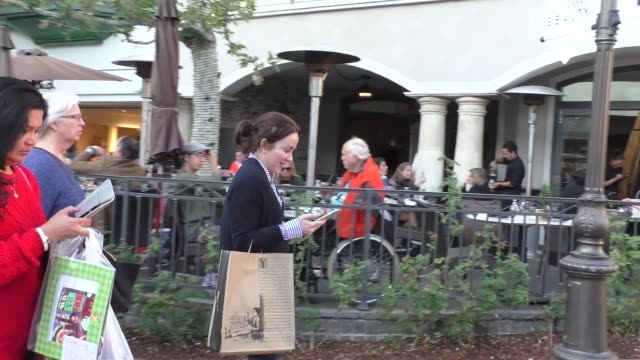 patricia heaton shopping at the grove in hollywood in celebrity sightings in los angeles, - the grove los angeles stock videos & royalty-free footage