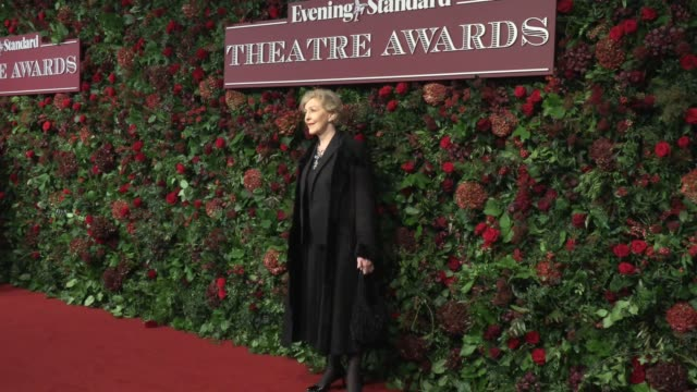 patricia hodge at london coliseum on november 24 2019 in london england - patricia hodge stock videos & royalty-free footage