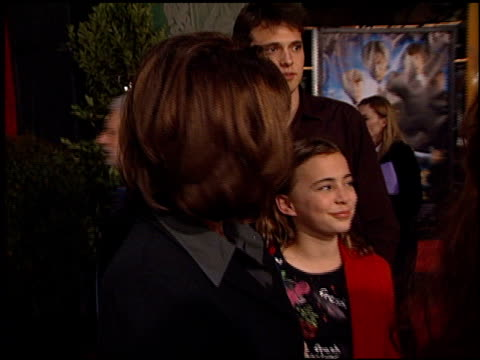 patricia richardson at the 'harry potter and the chamber of secrets' premiere on november 14 2002 - potter stock videos & royalty-free footage