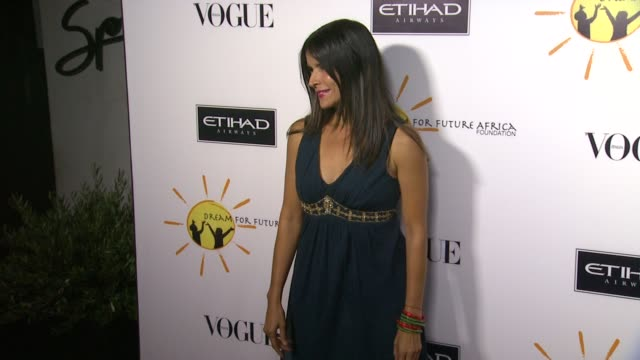 patricia velasquez at gelila and wolfgang puck's dream for future africa foundation gala in beverly hills, ca, on . - ウォルフギャング パック点の映像素材/bロール
