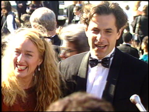patricia wettig at the 1989 emmy awards outside at the pasadena civic auditorium in pasadena california on september 17 1989 - pasadena civic auditorium stock videos & royalty-free footage