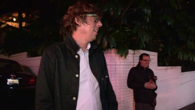 Patrick Carney on Jack White Justin Bieber at Chateau Marmont in West Hollywood 08/05/13