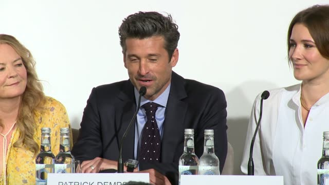 patrick dempsey on being an american at claridge's hotel on september 05, 2016 in london, england. - claridge's stock videos & royalty-free footage