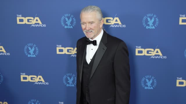 patrick duffy at the 71st annual dga awards at the ray dolby ballroom at hollywood highland center on february 02 2019 in hollywood california - director's guild of america stock videos & royalty-free footage