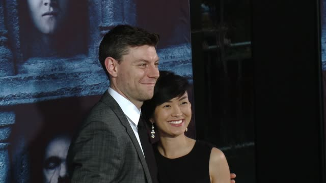 "vidéos et rushes de patrick fugit at the ""game of thrones - season 6"" los angeles premiere at tcl chinese theatre on april 10, 2016 in hollywood, california. - tcl chinese theatre"