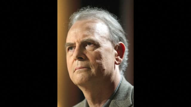 patrick modiano a french historical novelist whose work has revolved around his nations painful experience of nazi occupation won the nobel... - literature stock videos & royalty-free footage
