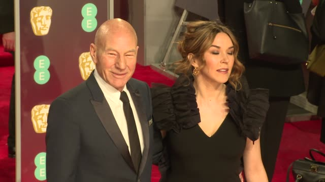 Patrick Stewart at Royal Albert Hall on February 18 2018 in London England