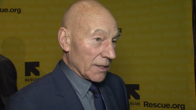 INTERVIEW Patrick Stewart discusses why it's so important to shine a light on the work of IRC tonight and how anyone can get involved with IRC's work...