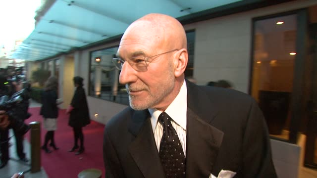 Patrick Stewart on loving being nominated against hundreds of collegues and his competition in the nomination being a friend and the reunion aspect...
