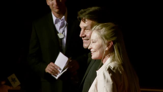 Patrick Swayze and Lisa Niemi at the 'Dan in Real Life' World Premiere at the El Capitan Theatre in Hollywood California on October 24 2007