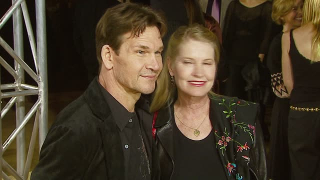 Patrick Swayze and Lisa Niemi at the MGM's 'Rocky Balboa' World Premiere at Grauman's Chinese Theatre in Hollywood California on December 13 2006