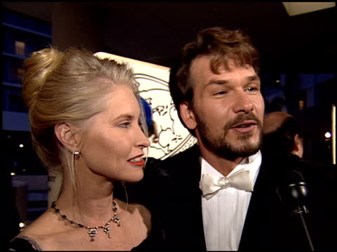 Patrick Swayze at the 1995 Golden Globe Awards at the Beverly Hilton in Beverly Hills California on January 21 1995