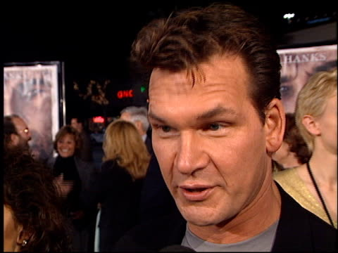 Patrick Swayze at the 'Cast Away' Premiere at the Mann Village Theatre in Westwood California on December 7 2000