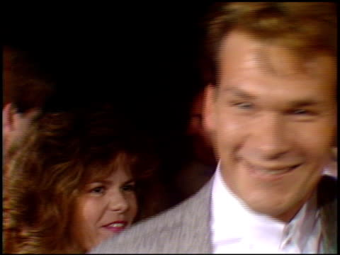 Patrick Swayze at the 'In Country' Premier at Academy Theater in Beverly Hills California on September 14 1989