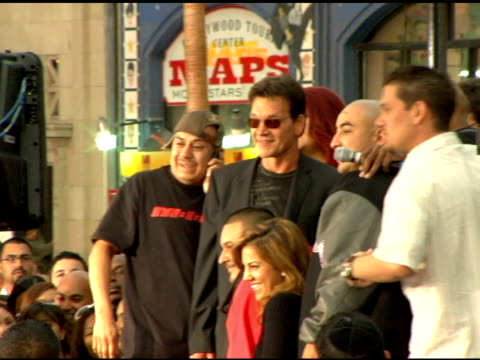 Patrick Swayze at the 'Mission Impossible 3' Los Angeles Premiere on May 4 2006