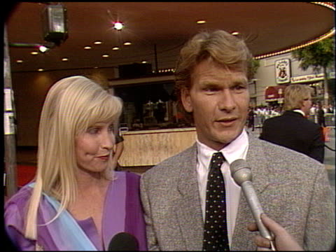 Patrick Swayze at the 'Robin Hood' Premiere on June 10 1991