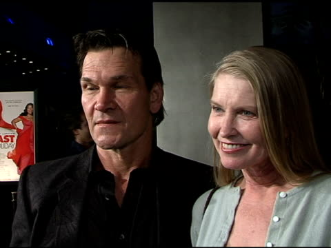 Patrick Swayze on Queen Latifah appreciating the message in the movie of living like every moment is the last and upcoming projects at the Paramount...