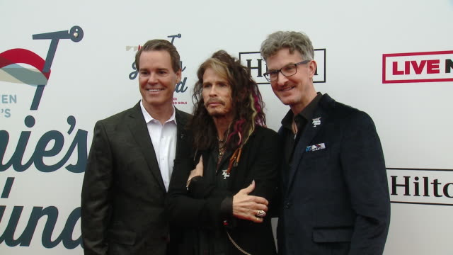 Patrick W Lawler Richard Shaw Steven Tyler at Steven Tyler's 2nd Annual GRAMMY Awards Viewing Party to Benefit Janie's Fund in Los Angeles CA