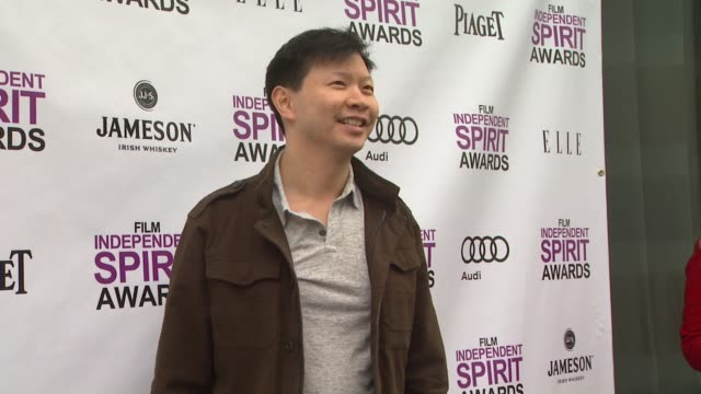 patrick wang at 2012 film independent filmmaker grant and spirit award nominees brunch on 1/14/2012 in west hollywood, ca. - independent feature project stock videos & royalty-free footage