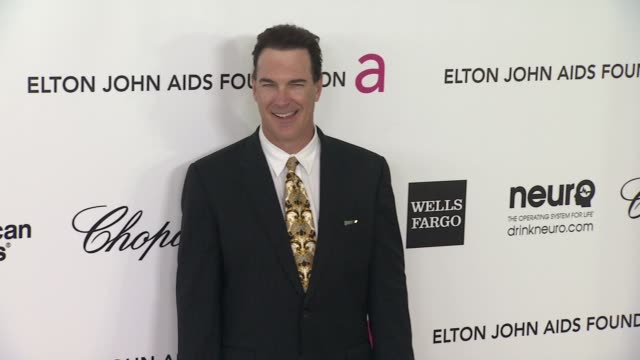patrick warburton at elton john aids foundation celebrates 20th annual academy awards viewing party on 2/26/12 in hollywood, ca. - patrick warburton stock videos & royalty-free footage