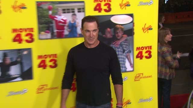 patrick warburton at movie 43 los angeles premiere 1/23/2013 in hollywood, ca. - patrick warburton stock videos & royalty-free footage