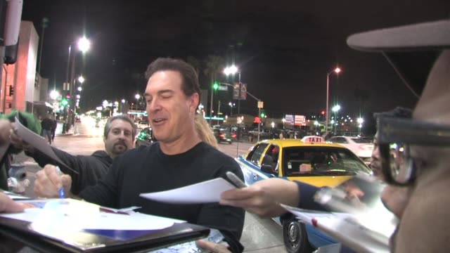 patrick warburton at pantages theater in hollywood at the celebrity sightings in los angeles at los angeles ca. - patrick warburton stock videos & royalty-free footage