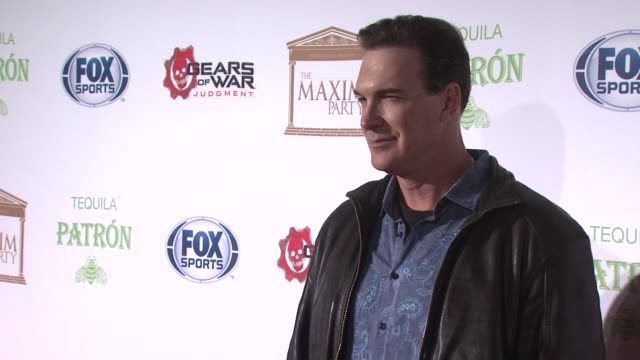 patrick warburton at patron tequila presents the maxim party with gears of war: judgment for xbox 360, fox sports & starter on 2/3/13 in new orleans, - patrick warburton stock videos & royalty-free footage