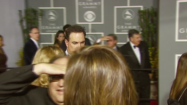 patrick warburton at the 2007 grammy awards arrival interviews at staples center in los angeles, california on february 11, 2007. - patrick warburton stock videos & royalty-free footage