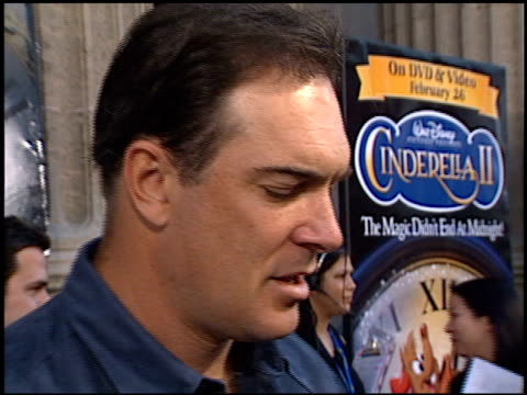 patrick warburton at the 'cinderella ii' premiere at the el capitan theatre in hollywood, california on february 23, 2002. - patrick warburton stock videos & royalty-free footage