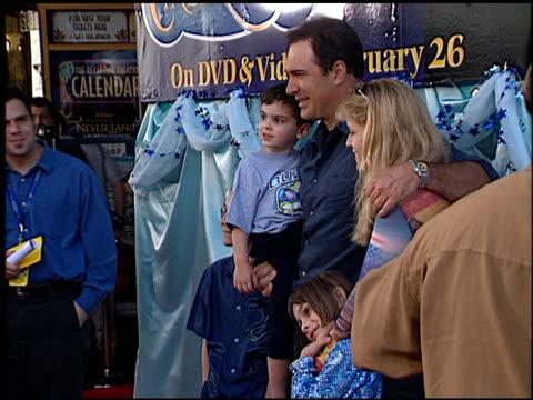patrick warburton at the 'cinderella ii' premiere at the el capitan theatre in hollywood, california on february 23, 2002. - el capitan theatre stock videos & royalty-free footage